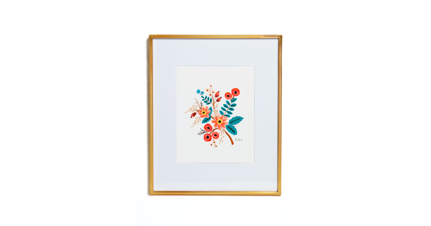 Coral Botanical Art Print