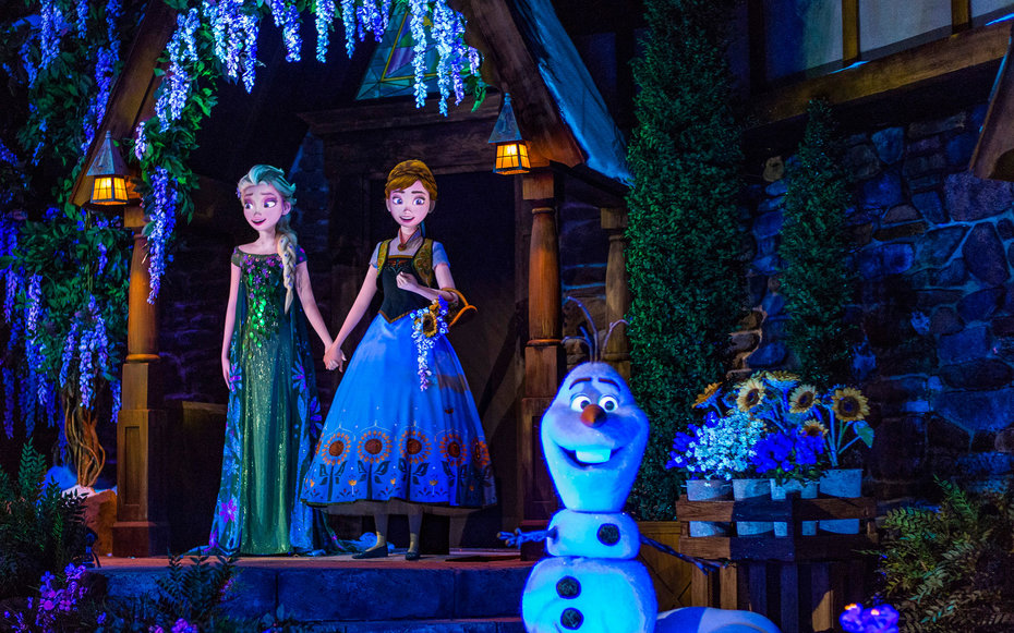 Characters in Frozen the Movie