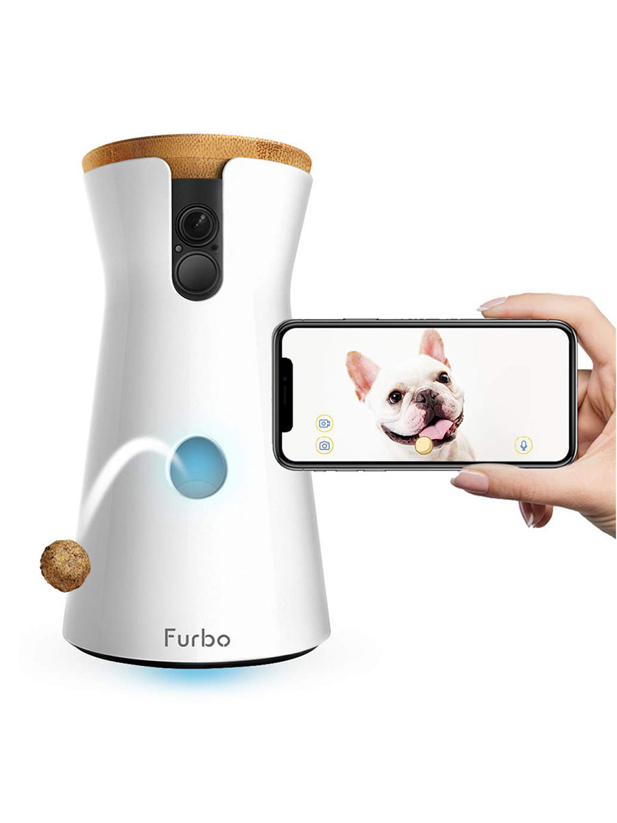 Furbo Treat Tossing Dog Camera with Two-Way Audio