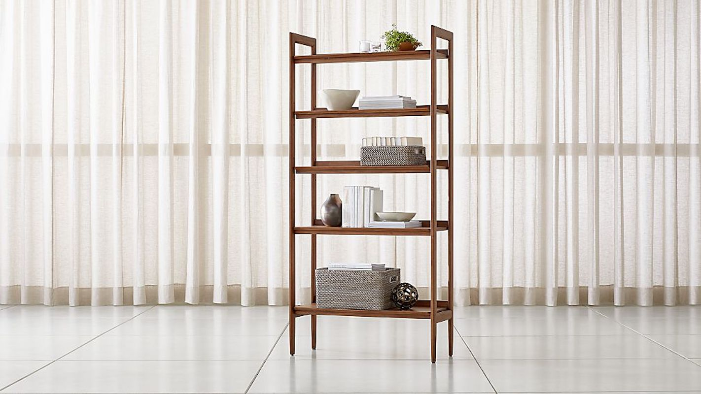 Furniture for Small Spaces, Wooden Bookcase