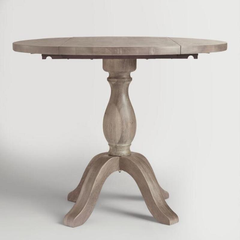 Furniture for Small Spaces, Drop leaf wooden table