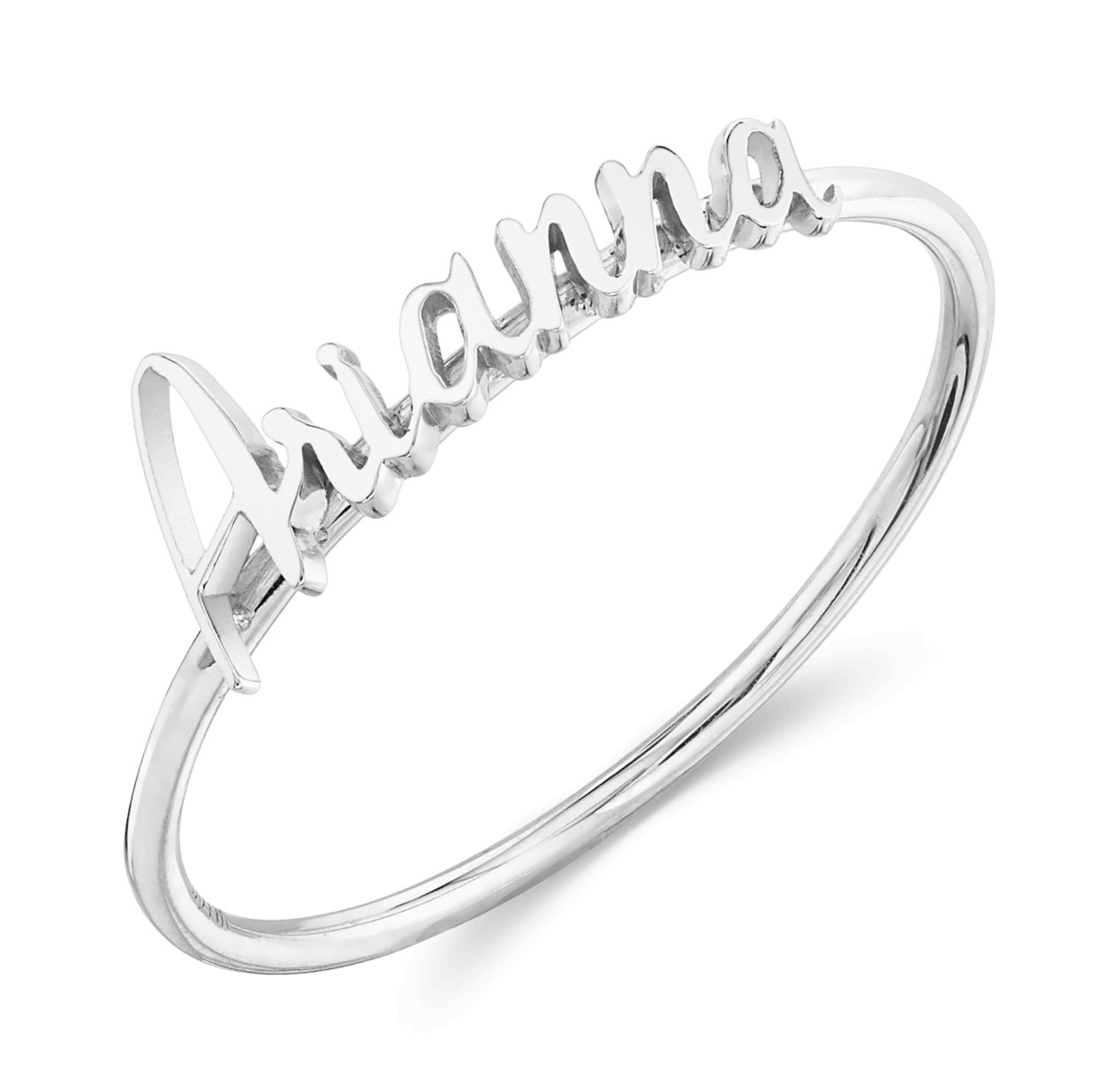 Galentine's Day gifts - Babygold Custom Name Ring