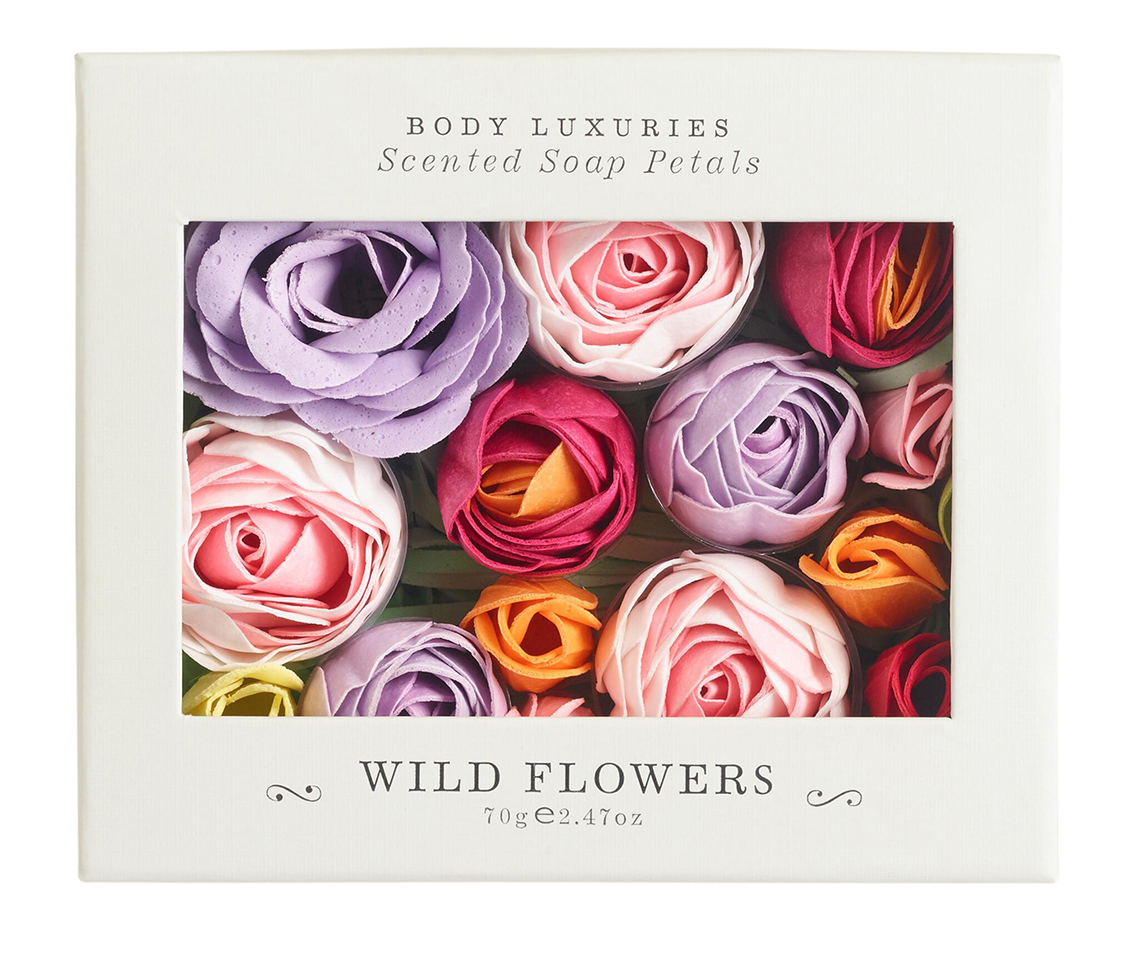Galentines Day Ideas: Enchanted Wild Flower Soap Petals