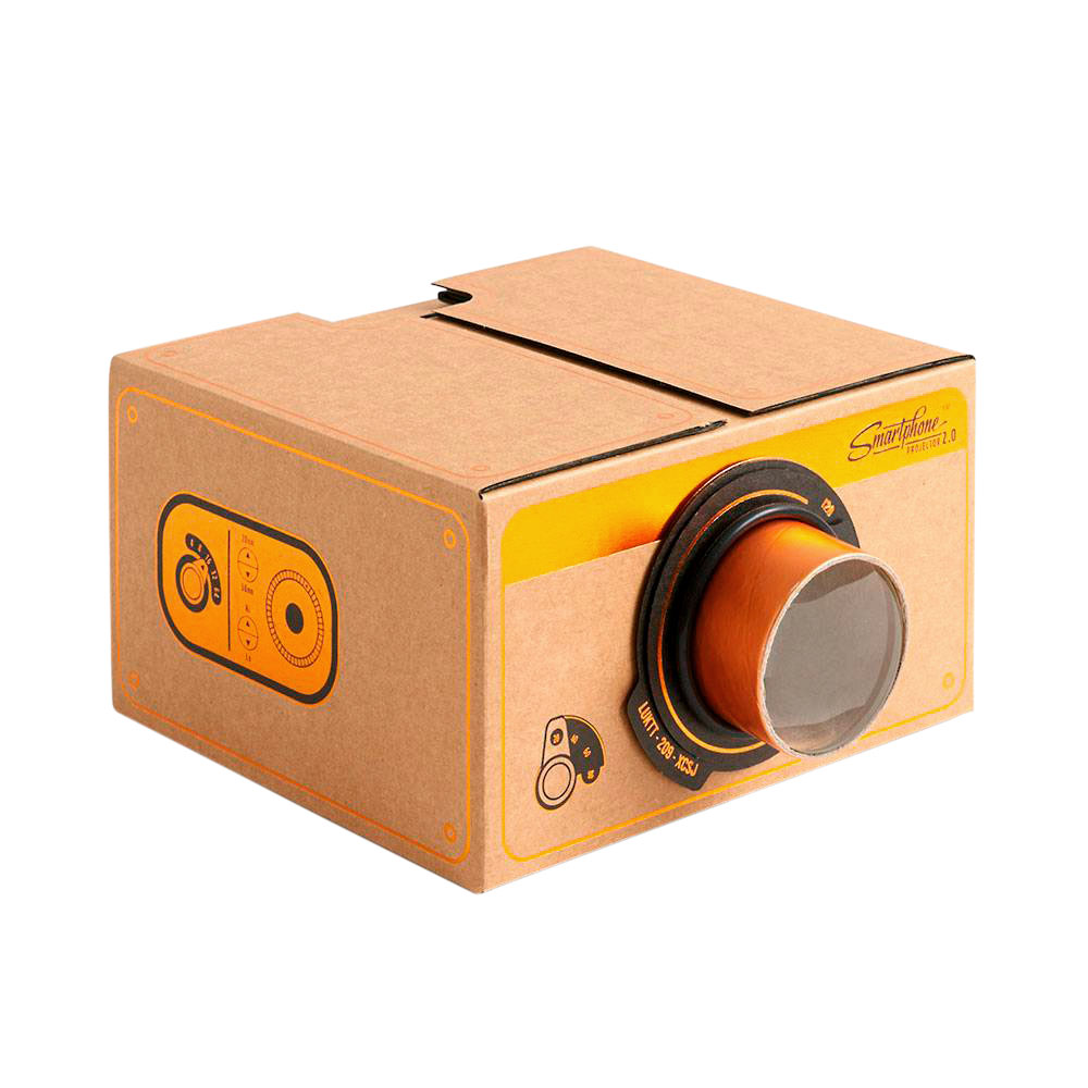 Game Night Supplies: Vintage Copper Smartphone Projector