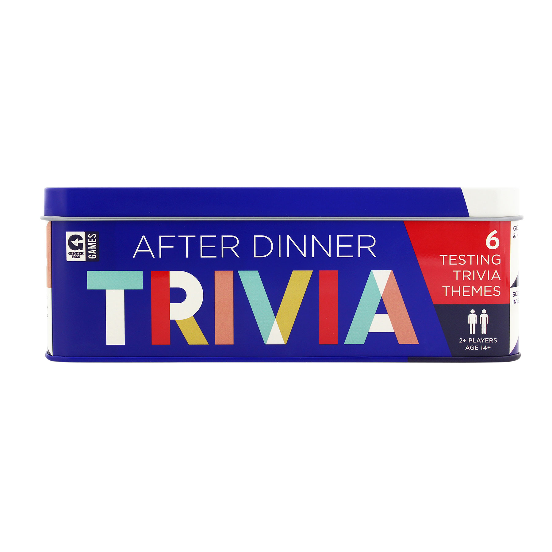 Game Night Supplies: Ginger Fox After Dinner Trivia Tin