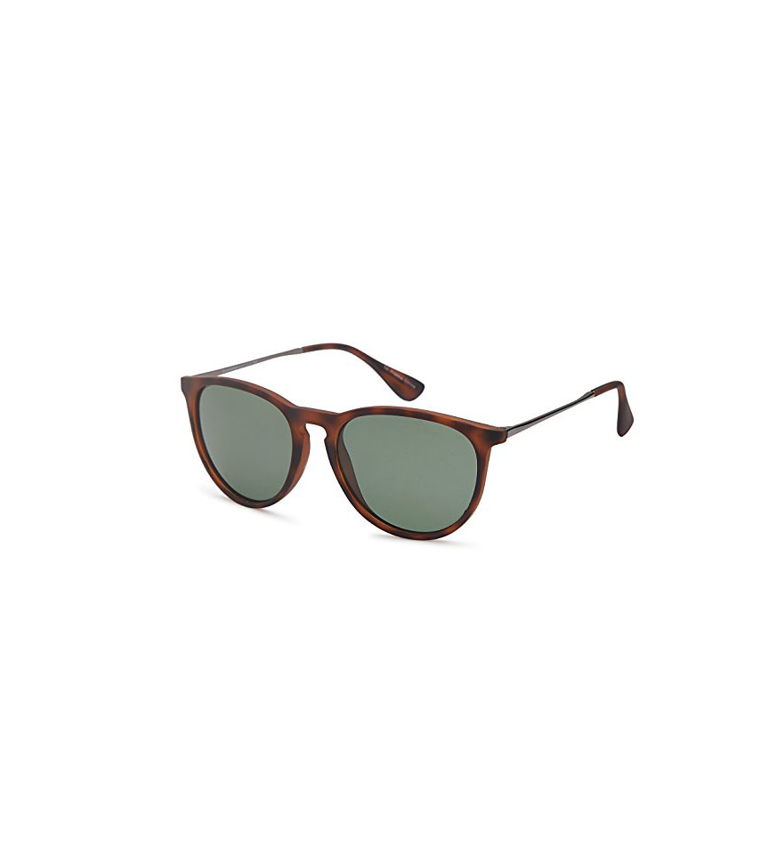 GAMMA RAY Polarized Vintage Retro Round Sunglasses