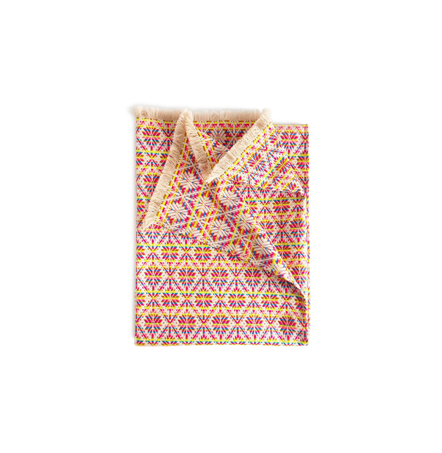 Creatively Connected Picnic Blanket in Geometric