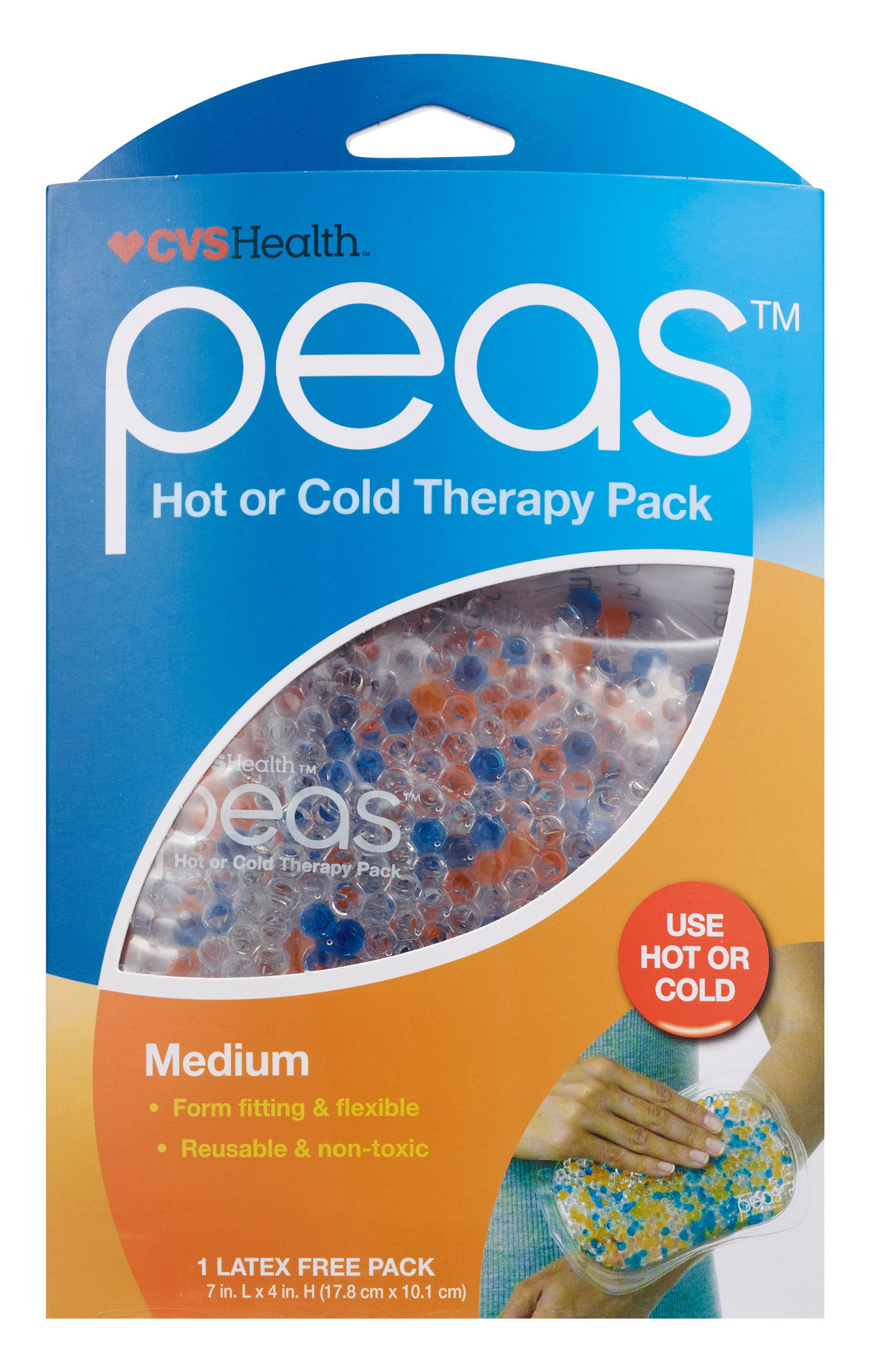 Gifts for Sick or Injured People and quarantine gift ideas - CVS Health Peas Hot or Cold Therapy Pack