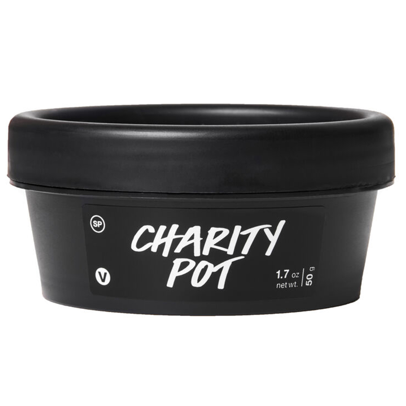 Gifts that give back - Lush Charity Pot