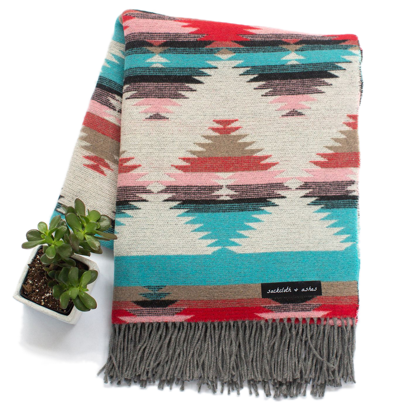 Gifts that give back - Sackcloth + Ashes Mojave Turquoise blanket