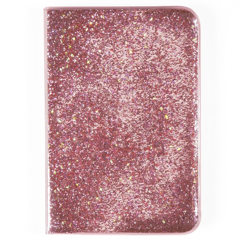 Gifts that give back - Yoobi Journal in Pink Liquid Glitter