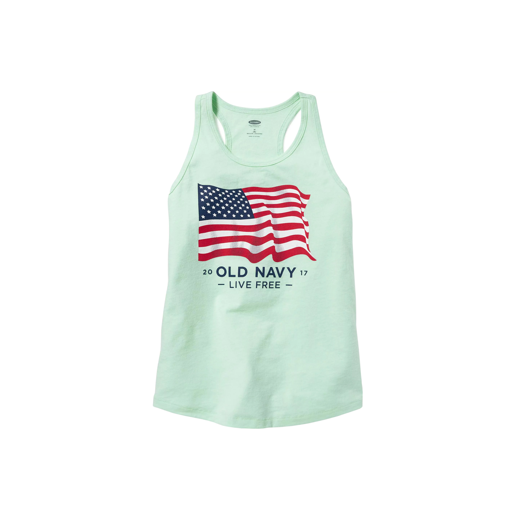 Old Navy Girls Flag Tank