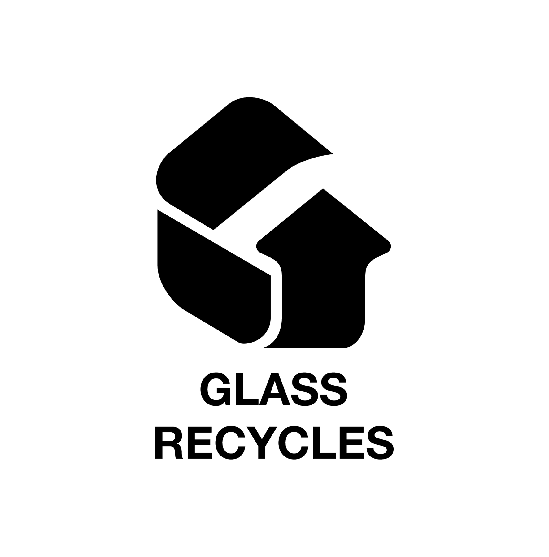 Glass Recycles Logo