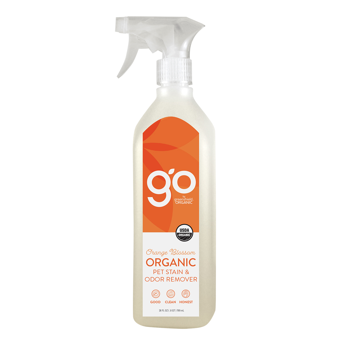 GO by Greenshield Organic Pet Stain & Odor Remover at walmart