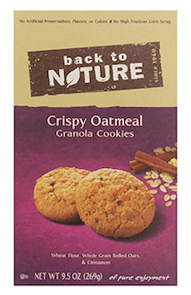 Back to Nature Granola Cookies