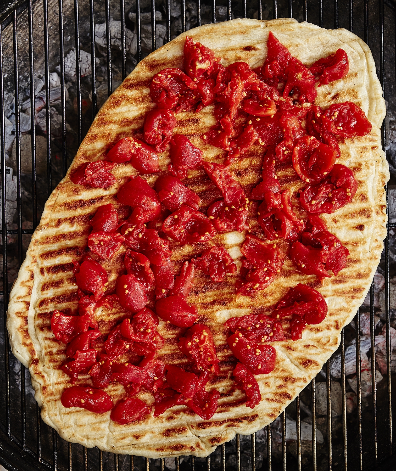 Grilled Pizza Step 3