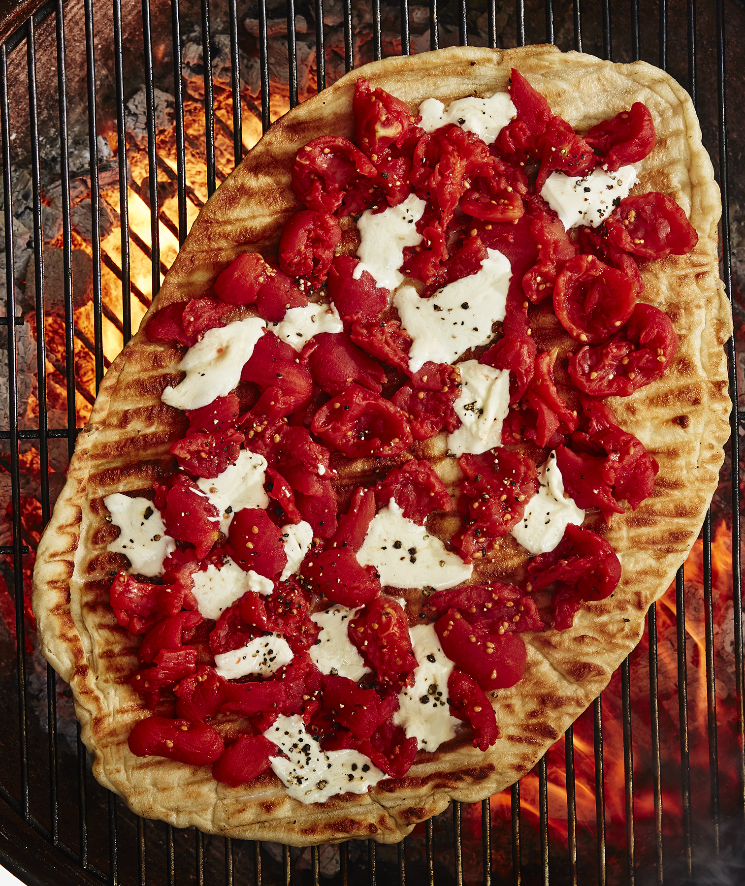 Grilled Pizza Step 5