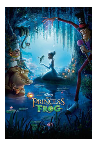 Halloween movies on Netflix - The Princess and the Frog
