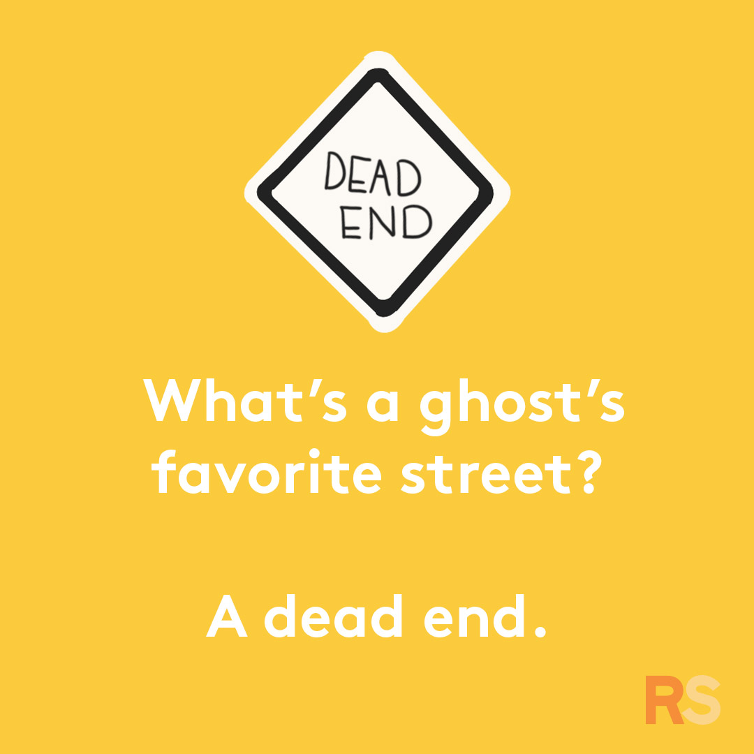 Halloween puns - what's a ghost's favorite street
