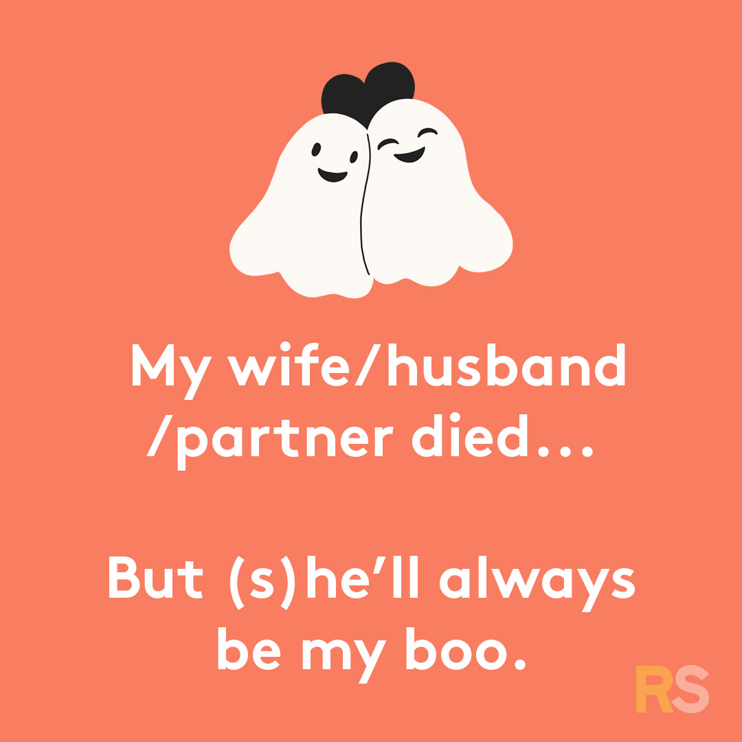 Halloween puns - they'll always be my boo