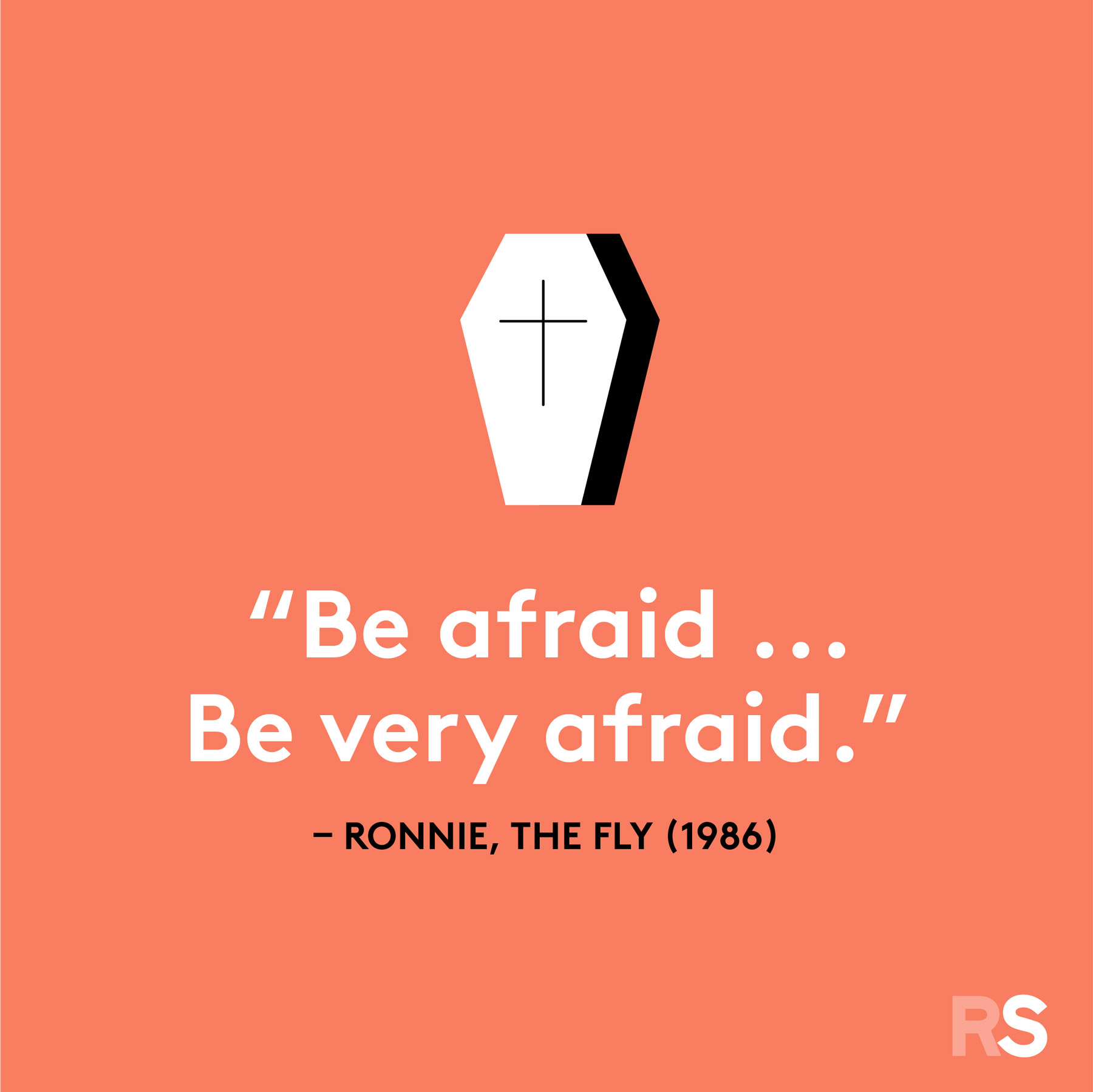 Halloween quotes, sayings, phrases - Be Afraid