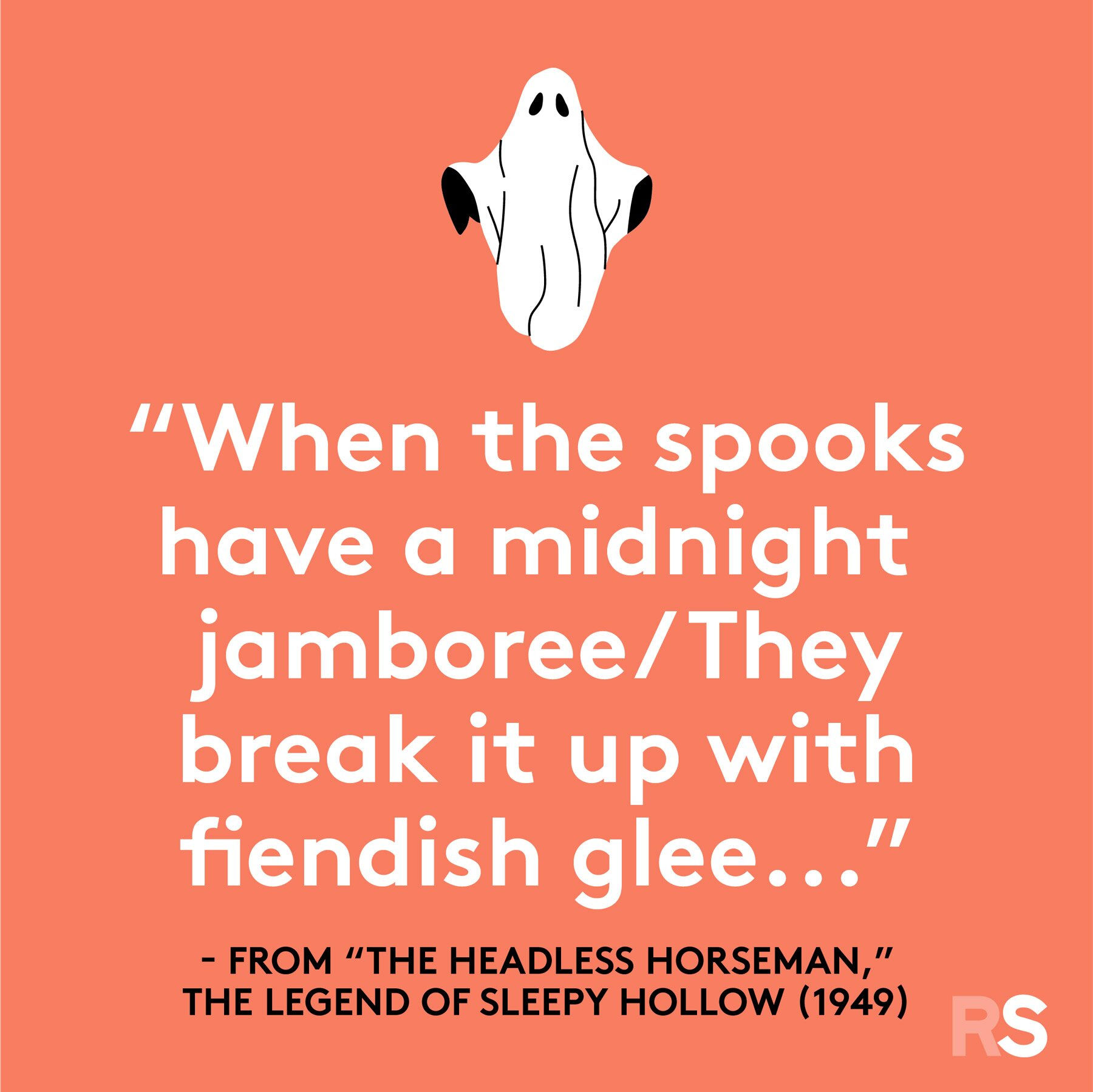 Halloween quotes, sayings, phrases - Headless horseman quote