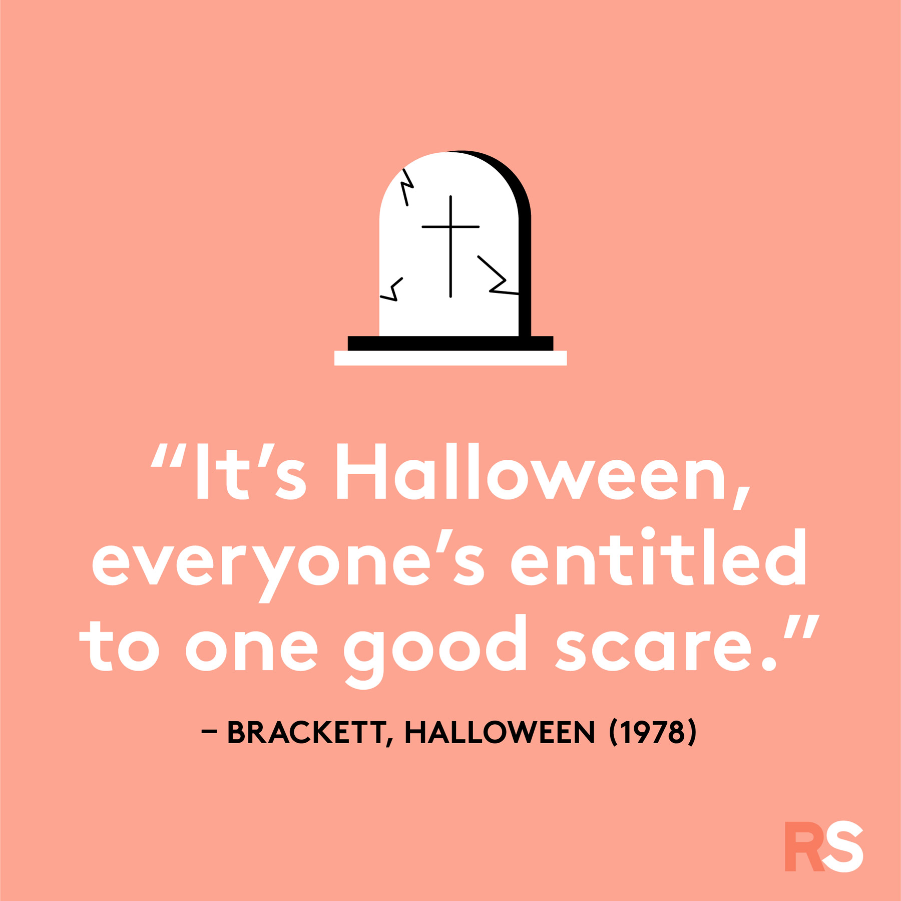 Halloween quotes, sayings, phrases - One Good Scare quote