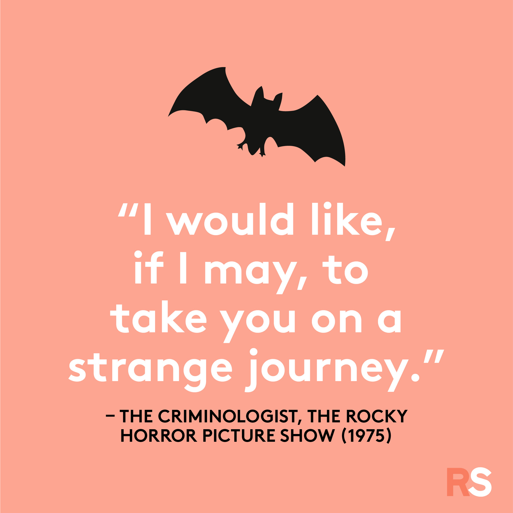 Halloween quotes, sayings, phrases - Rocky Horror Picture Show quote