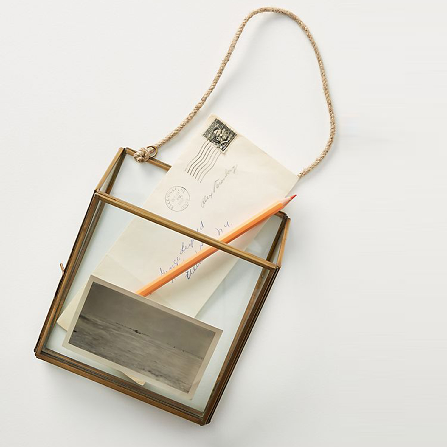 Anthropologie Hanging Pocket Frame