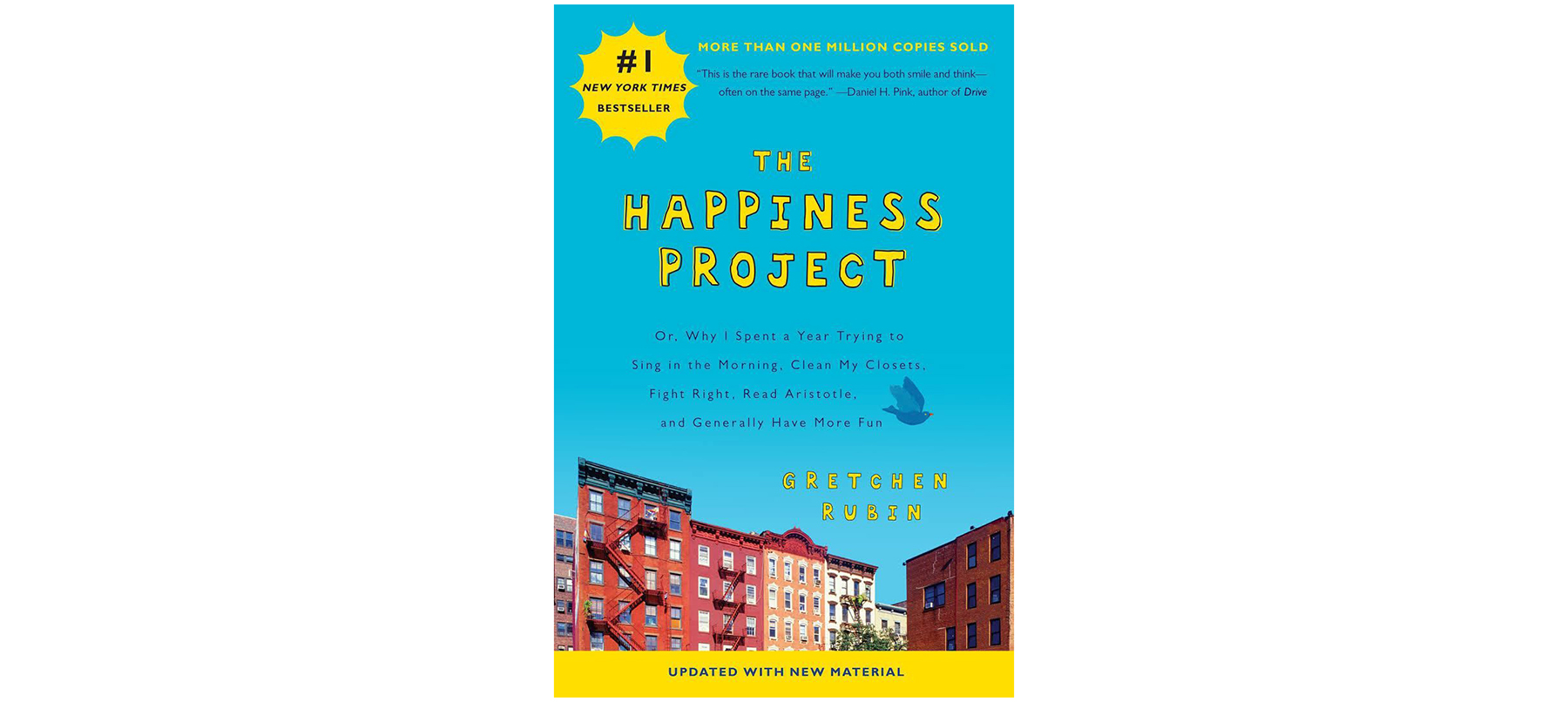 Cover of The Happiness Project, by Gretchen Rubin