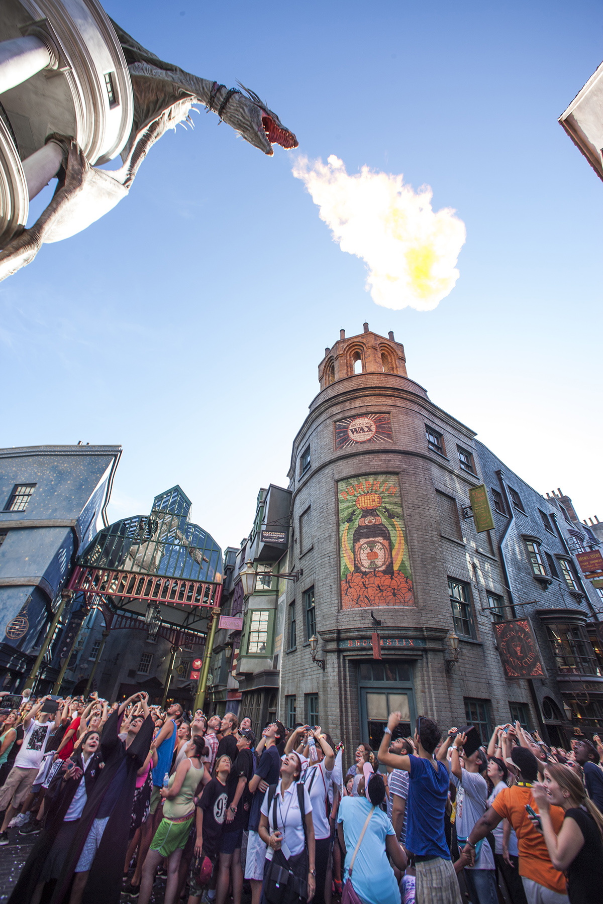 Wizarding World of Harry Potter Diagon Alley Scene