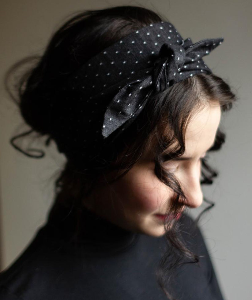 gifts for new moms: twisted wide headband on etsy