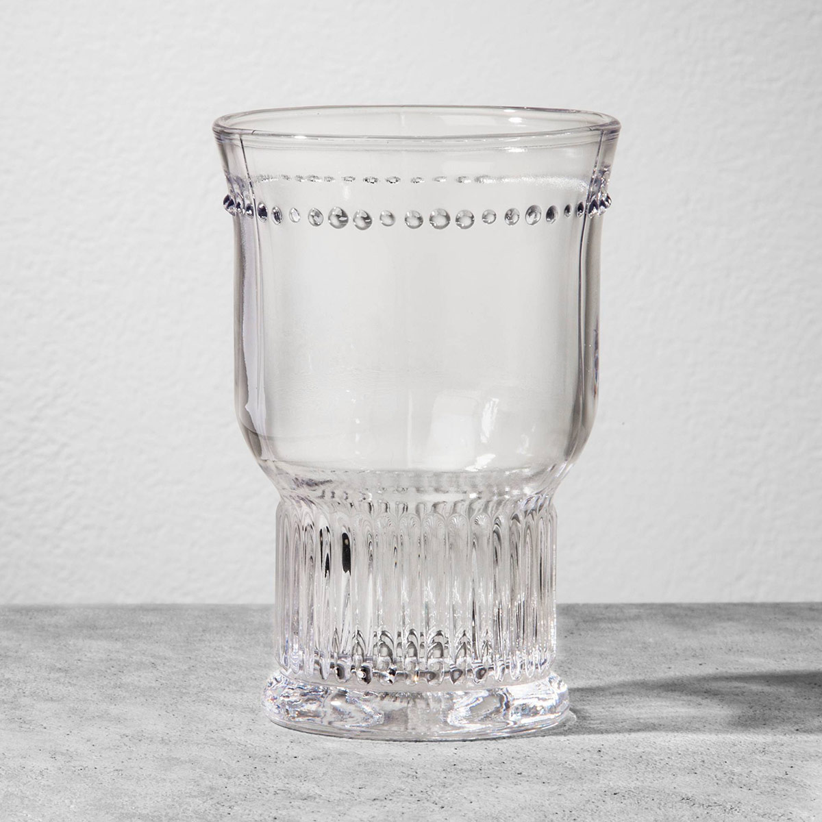 Glass Fluted Tumbler
