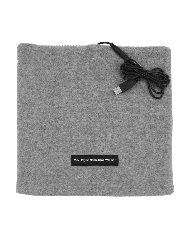 Heated Mouse Pad in gray