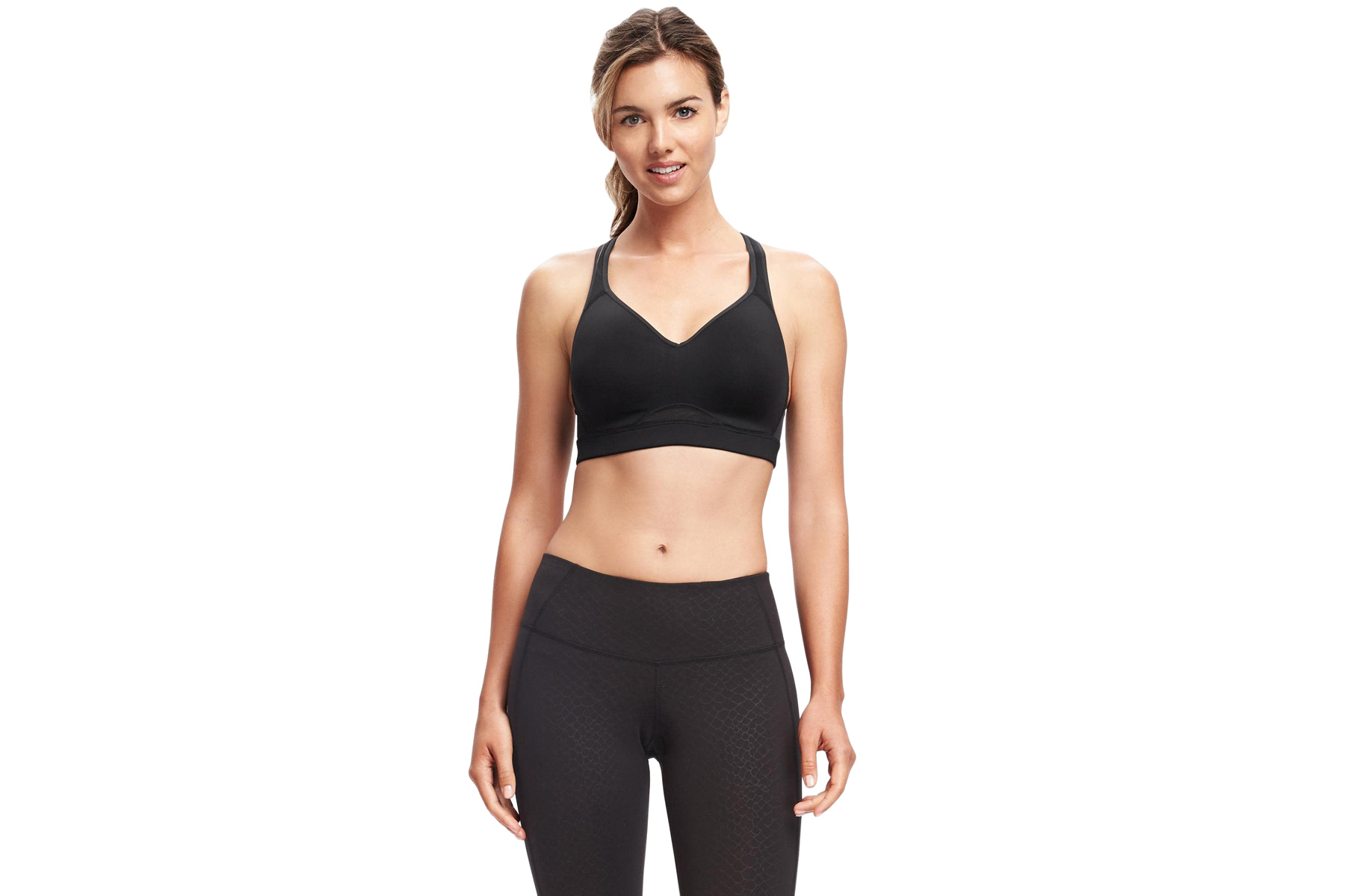 Go-Dry Racerback High Support Sports Bra for Women