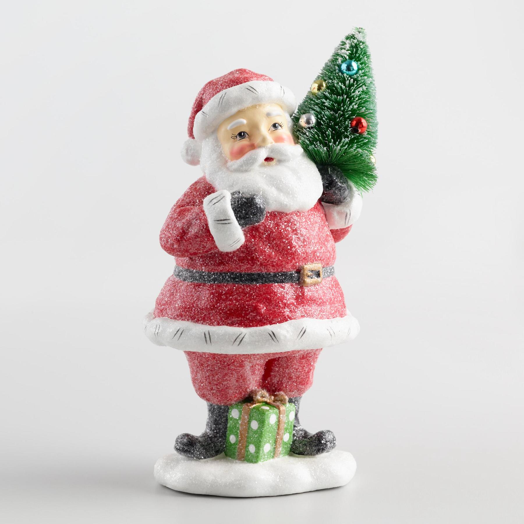 Retro decorative Santa