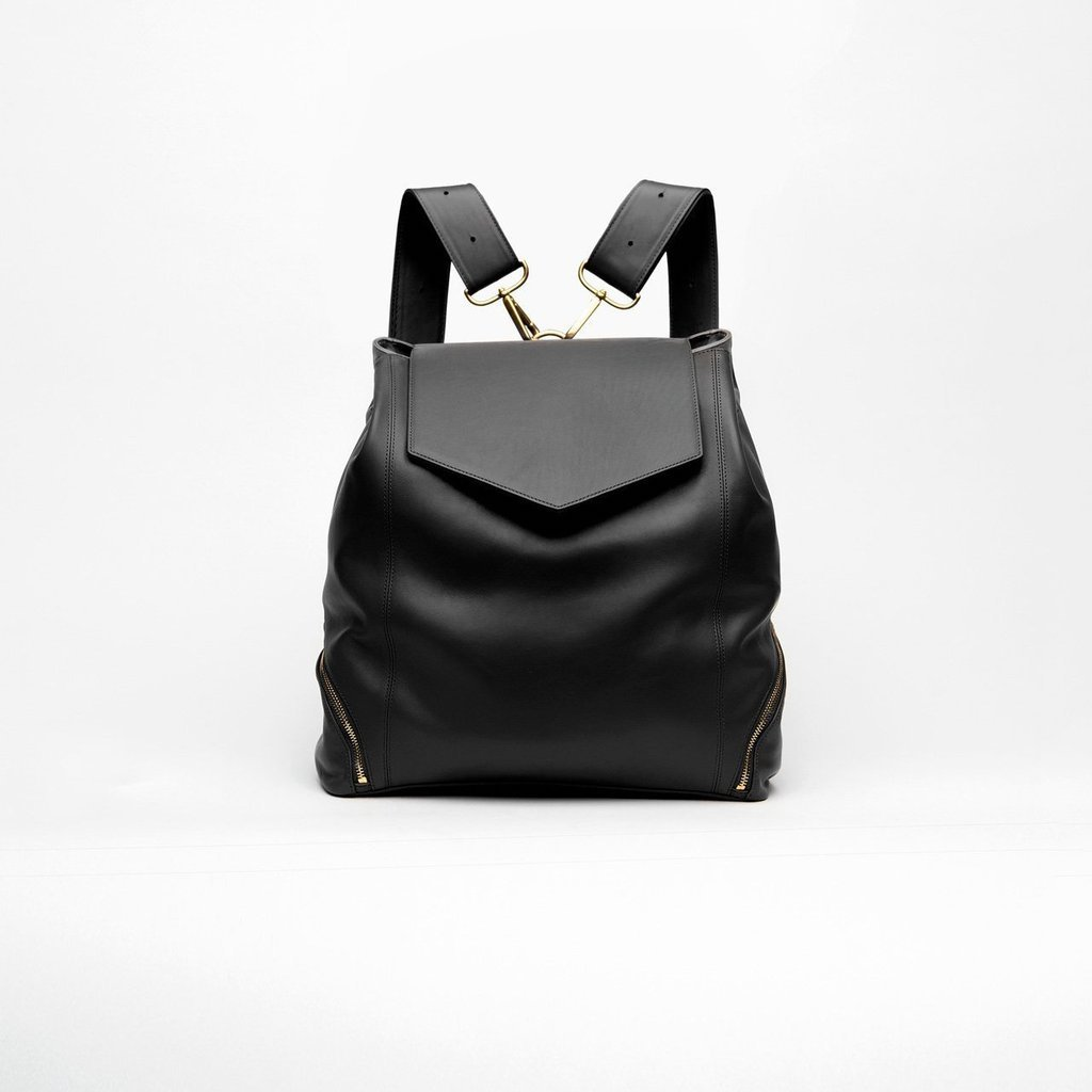 holly and tanager leather backpack purse