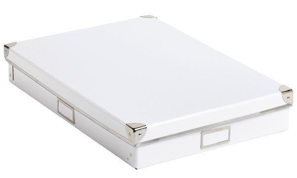 Home Organization Tools - Archival Boxes