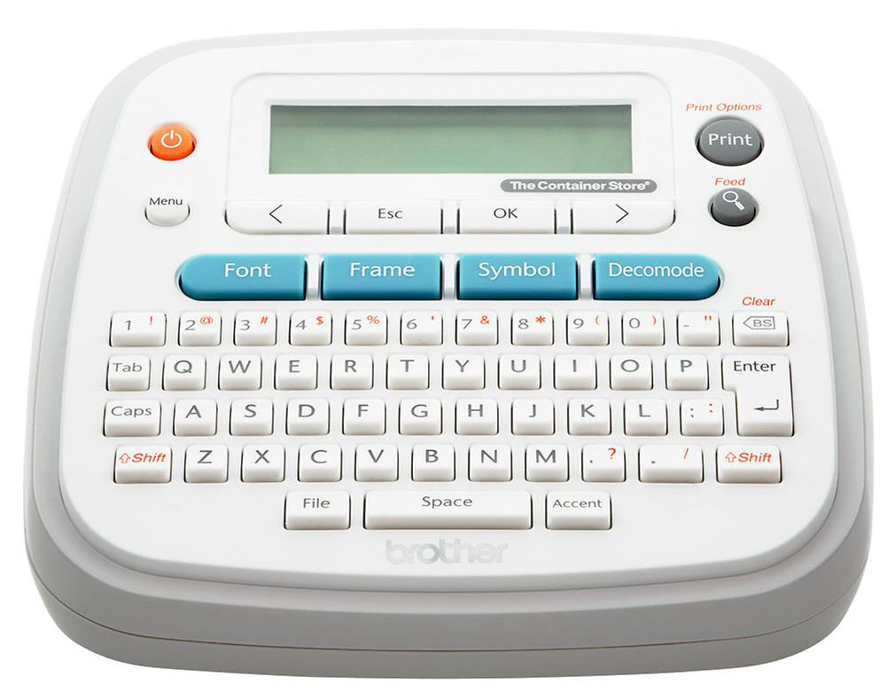 Home Organization Tools Approved by Designers - Label Maker