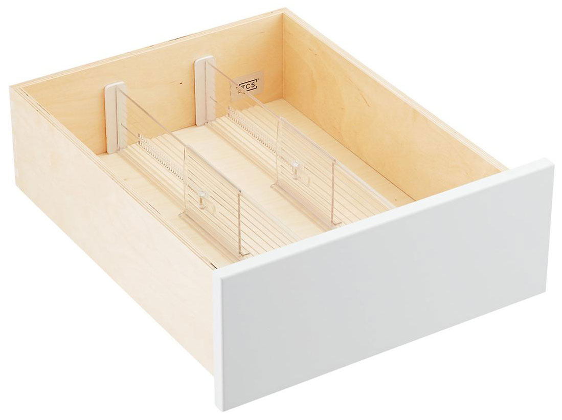 Home Organization Tools Approved by Designers - Drawer Dividers
