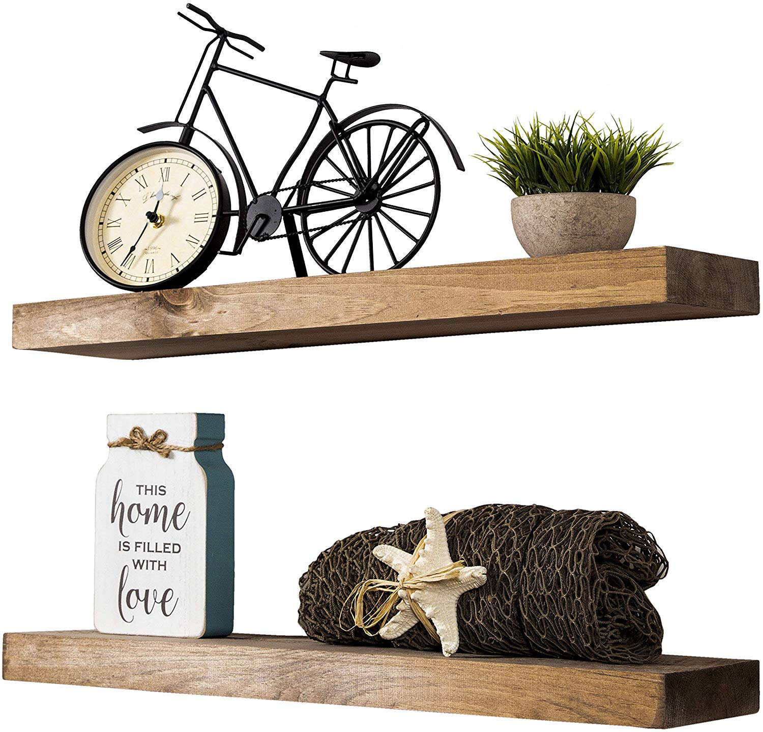 Home Organization Tools Approved by Designers - Floating Shelves