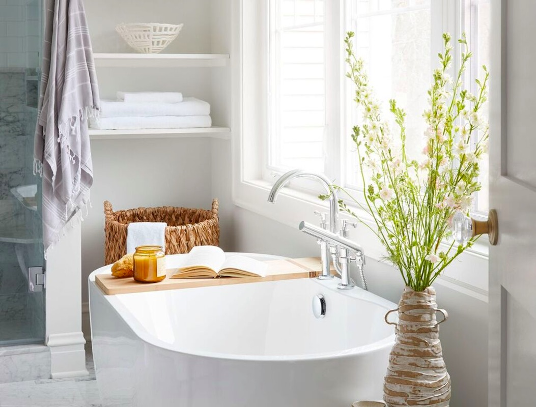 image of a beautiful remodeled bathroom