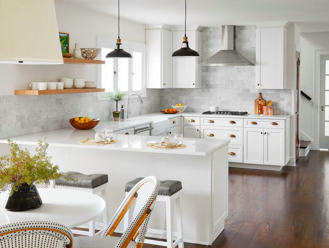 after image of beautiful remodeled kitchen