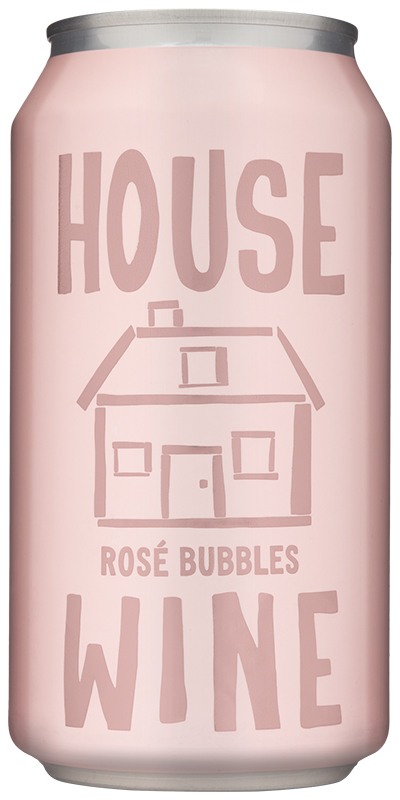 Best Canned Wines: House Wine Rosé Bubbles