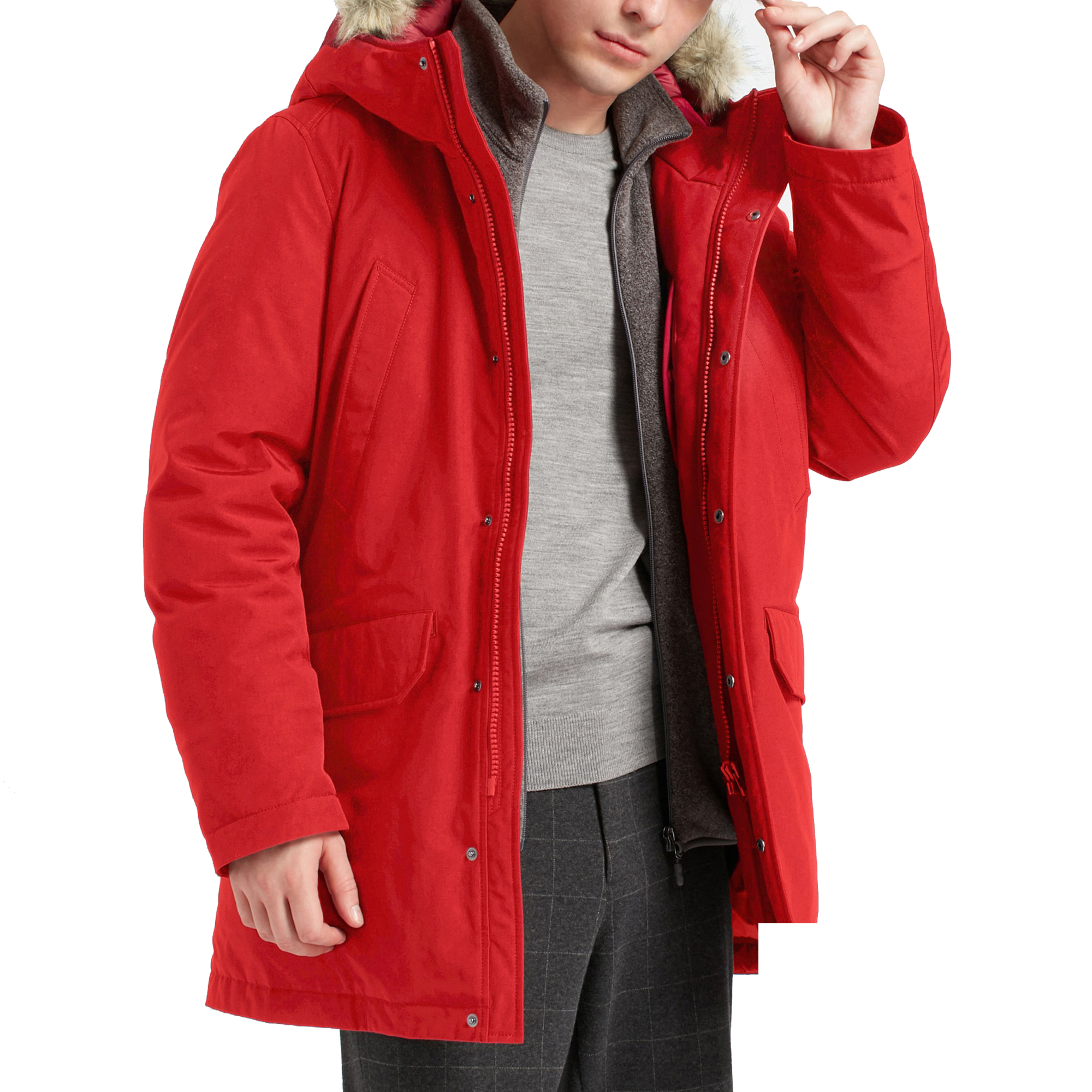 Great Gift Ideas for Men for Christmas: Uniqlo Hybrid Down Ultra Warm Coat
