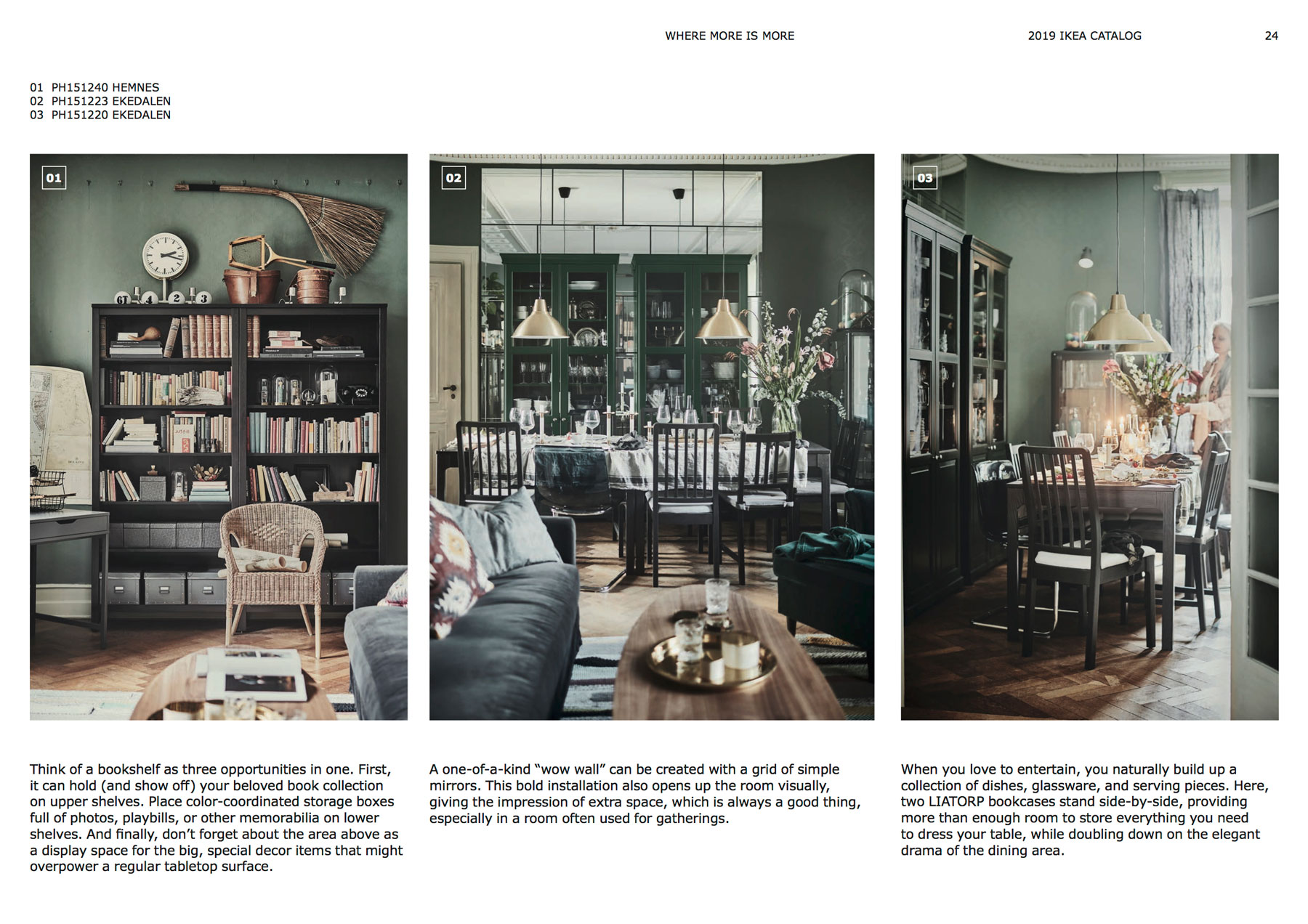 Ikea Catalog 2019 Design Trends mismatched chairs