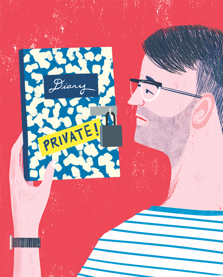 illustration diary private