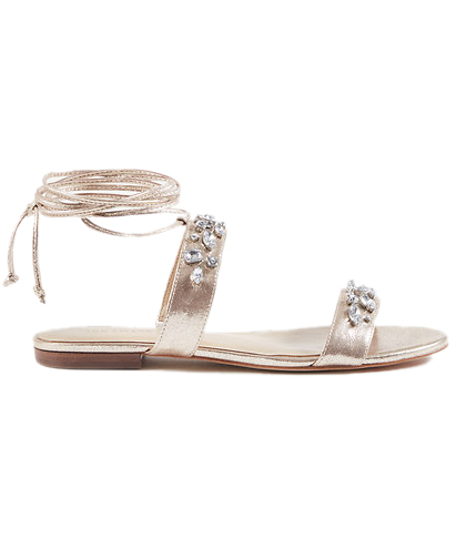 Irma Leather Lace Up Sandals