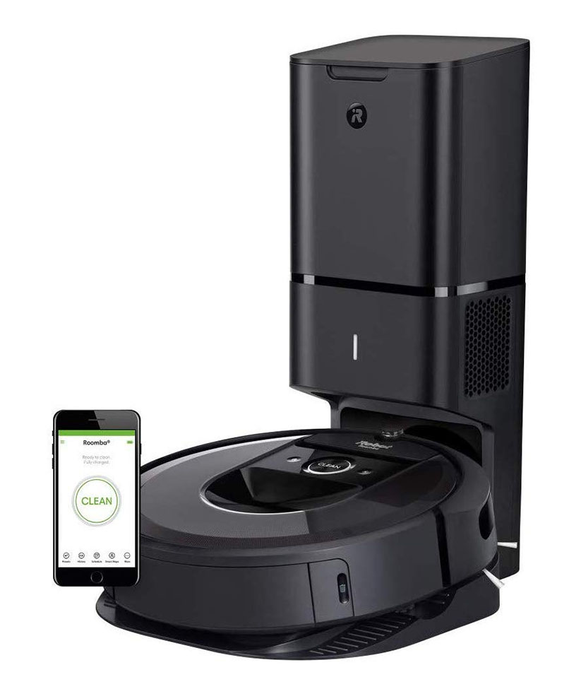 iRobot Roomba i7+ 7550 Robot Vacuum with Automatic Dirt Disposal