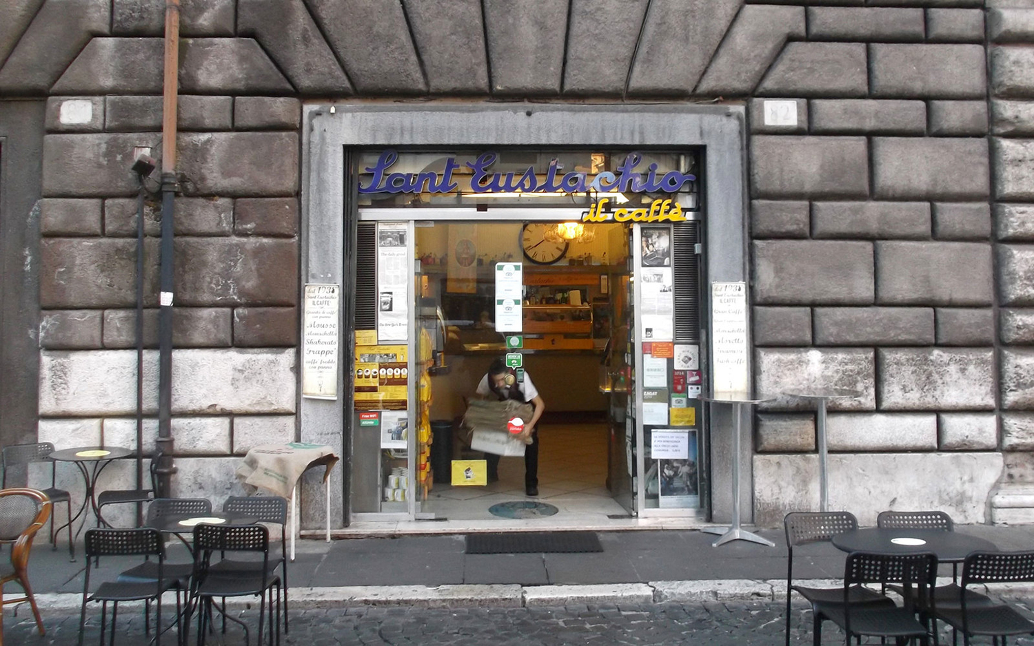 Coffee in Rome Italy